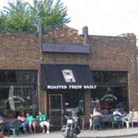 Photo of the exterior of Dunn Bros Coffee