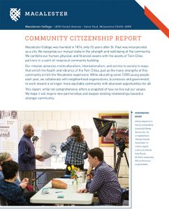 Community Citizenship Report document cover