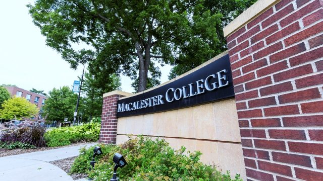 Macalester Sign