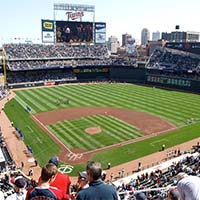 Photo of the Minnesota Twins' home stadium, Target Field.