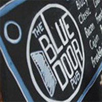 Photo of the exterior of the Blue Door Pub