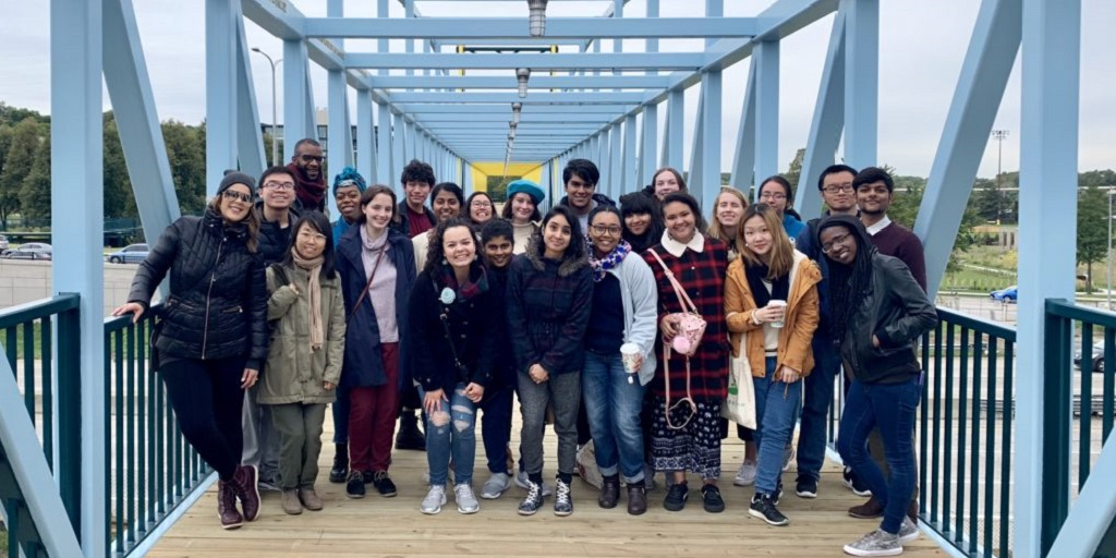 Macalester at Minneapolis Sculpture Garden