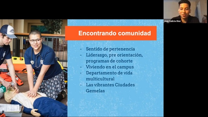 Introduction to Macalester in Spanish