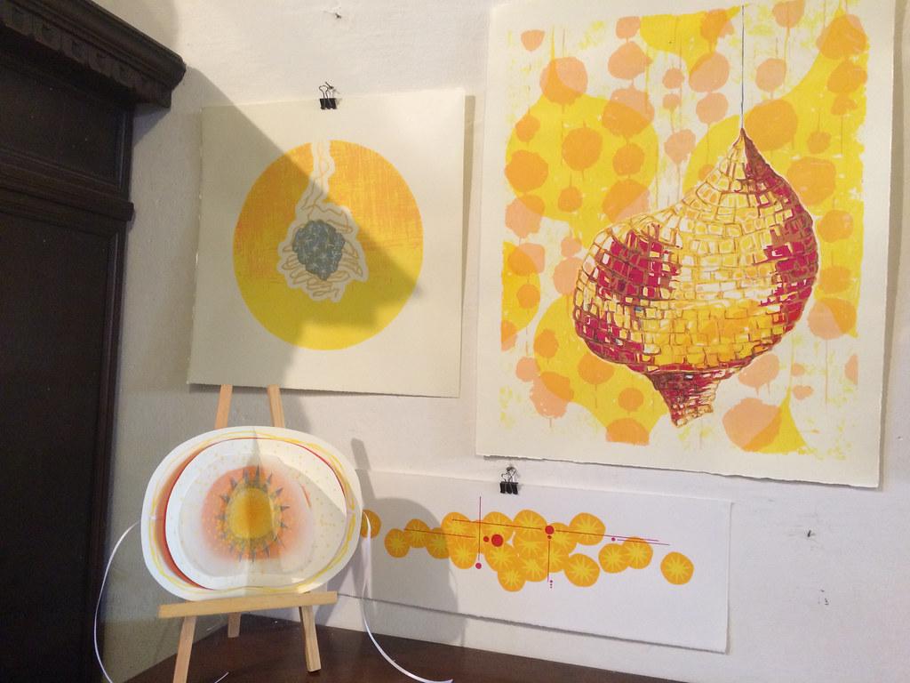 Emma Klajbor, Cocoon Series, 2014, Installation View