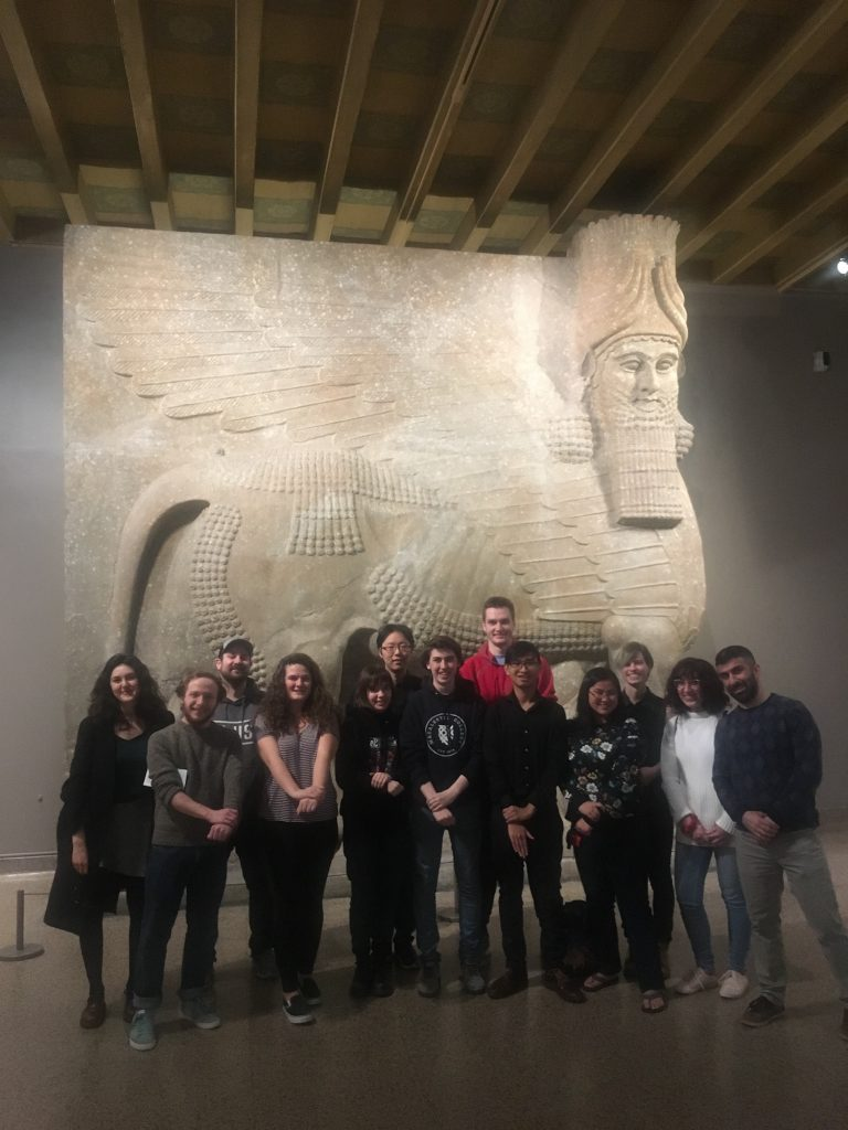 Class Trip to the Oriental Institute Museum of the University of Chicago (ART 281 – Art and Architecture of Ancient Near East, Spring 2019).