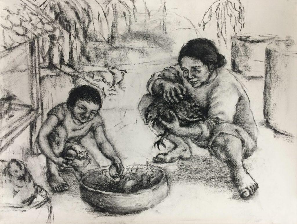 Phúc Nguyen, Drawing