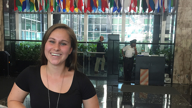 Emily Muscat '16 did a summer internship with the U.S. Department of State: Bureau of Democracy, Human Rights, and Labor: African Affairs office.