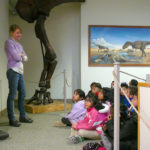 Elementary student visit to Macalester