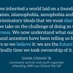 Samia's quote