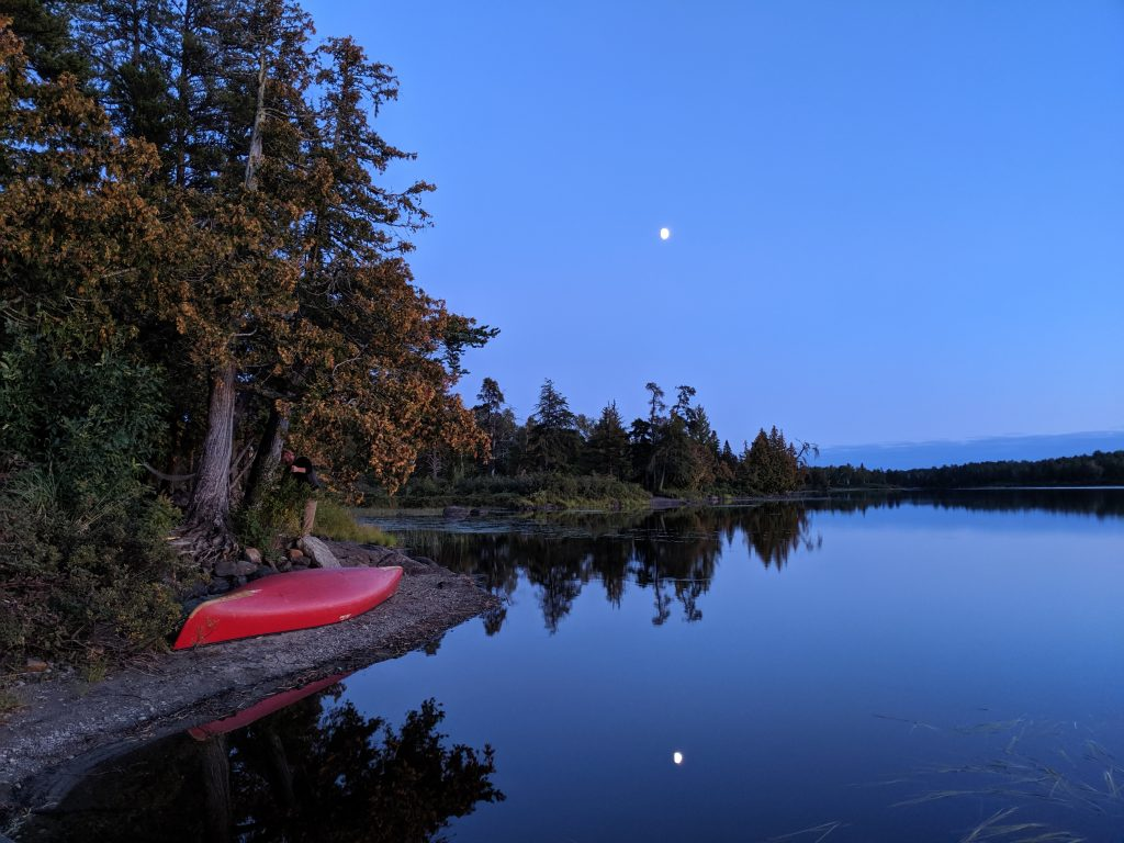 According to the USDA Forest Service, more than 100,000 people visit the Boundary Waters Canoe Area Wilderness (BWCAW) from May 1 through September 30 each year. Photo courtesy of Seth Weeks.