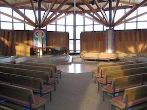 The Weyerhaeuser Chapel.