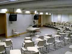 A general purpose classroom in the Carnagie building