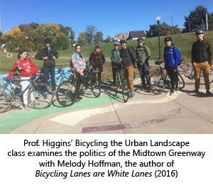 Bicyling the Urban Landscape Class
