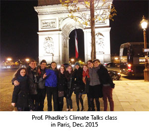 Climate Talks Class in Paris