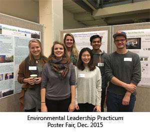 Environmental Leadership Practicum Poster Fair