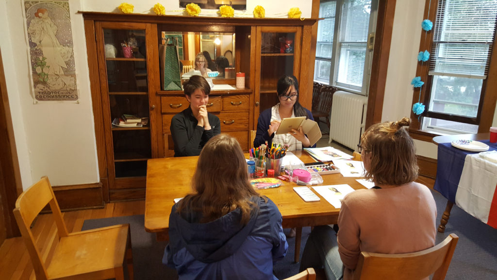Soirée Arts and Crafts which took place on September 26.