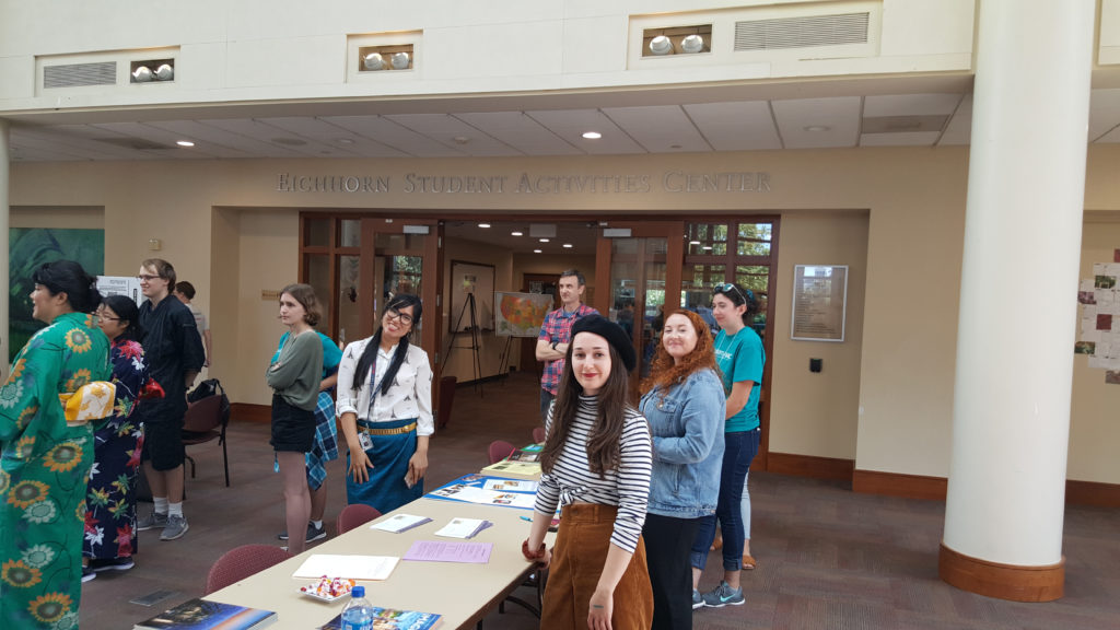 Languages fair which took place on August 30