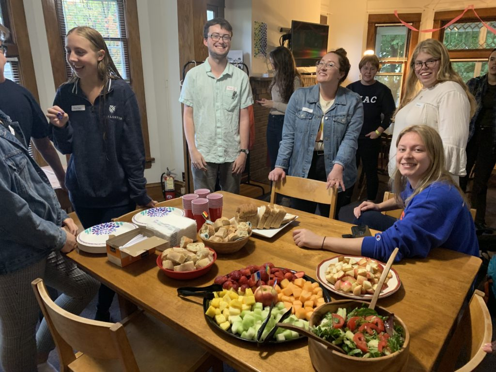 Back to School potluck witch took place on September 9