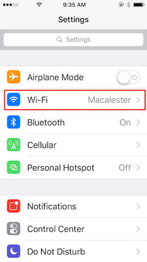 wireless connection guide for iphone ipod touch or ipad rh macalester edu Linksys Wireless Range Extender Setup Netgear Wireless Setup