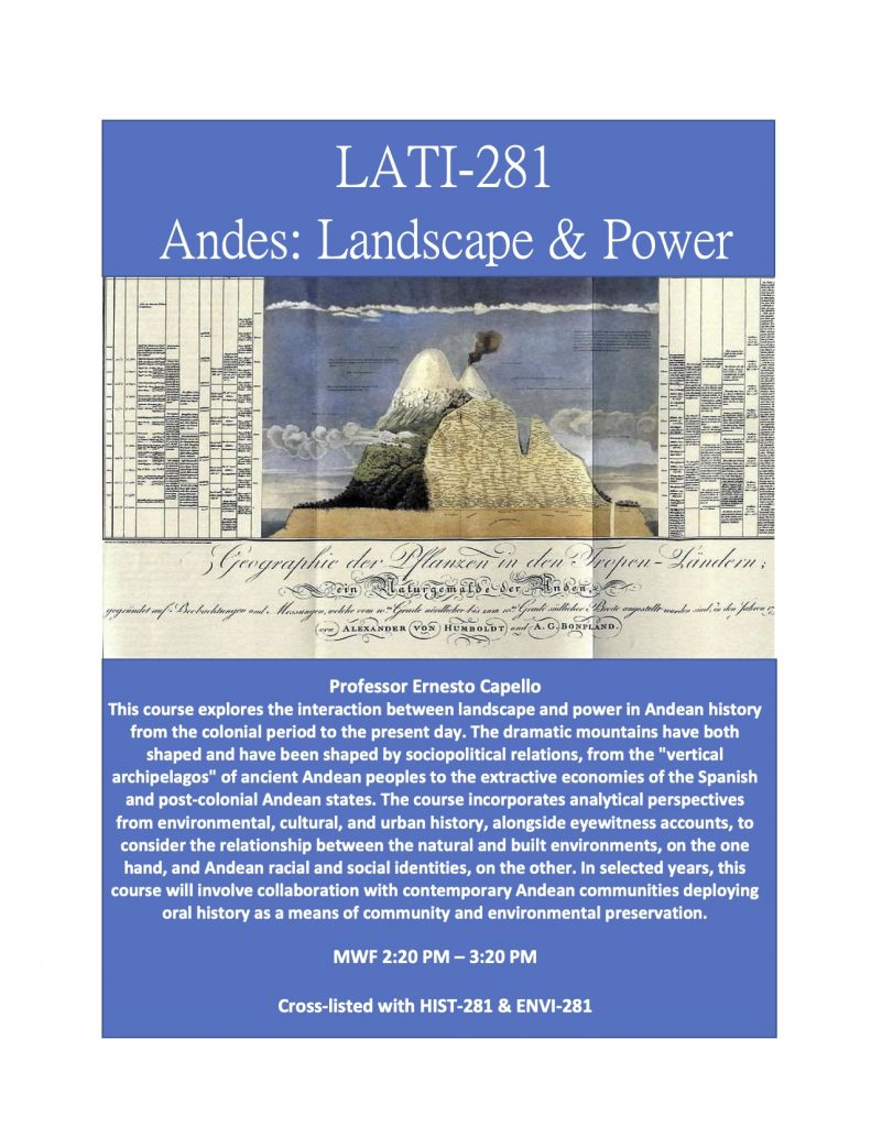 LATI 281 Flyer