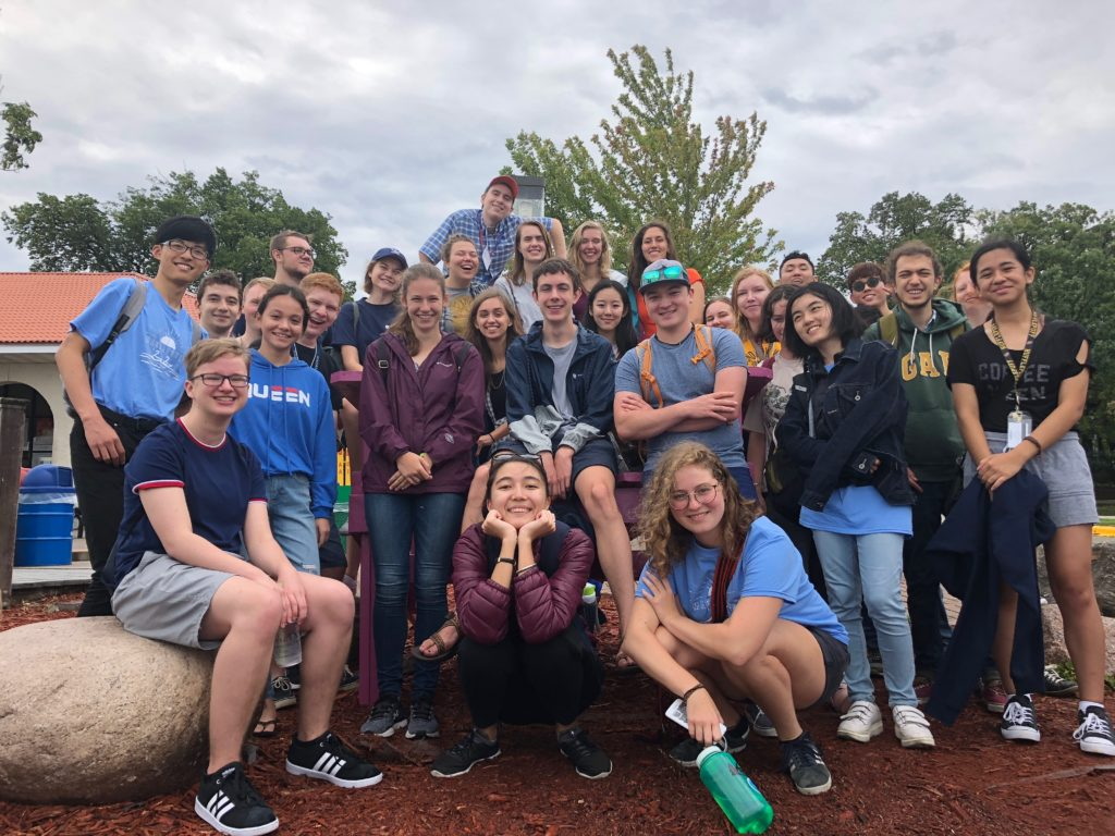 """During Orientation's """"Into the Streets"""" session, new students travel in and around the Twin Cities and learn how to engage with the larger Twin Cities community."""