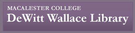 Logo: link to Macalester College Library