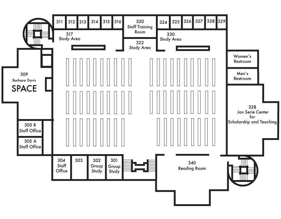 Map of the Third Floor