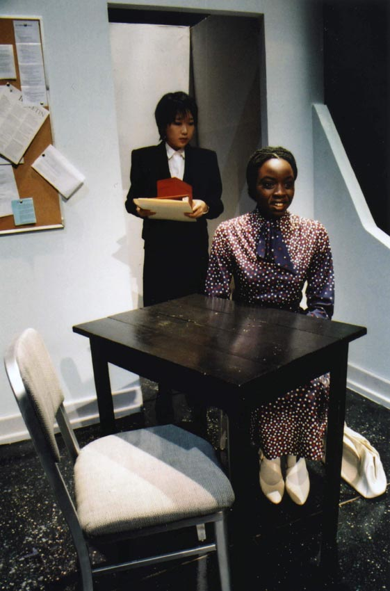 Scene from Top Girls, performed in 2007