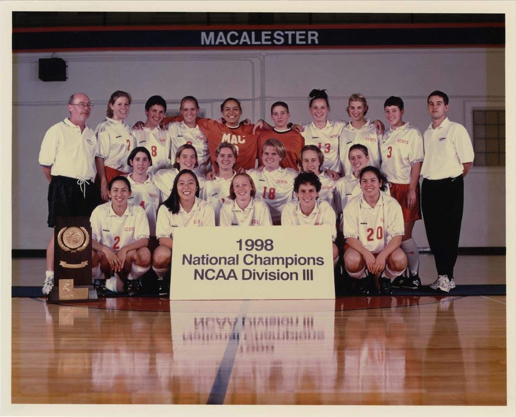 Soccer champions, 1998