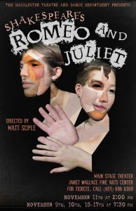 Theatre and Dance Department Presents Romeo and Juliet