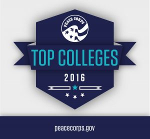 Macalester moves to the No. 3 spot on  Peace Corps' annual Top Schools list