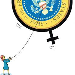 female politicians aiming high