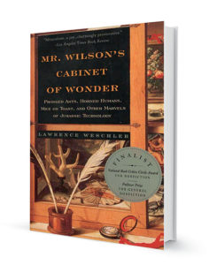 Photo of Mr. Wilson's Cabinet of Wonder by Lawrence Weschler