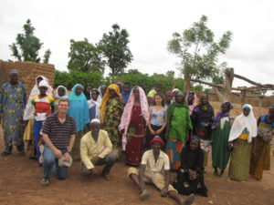 Bill and Julia with villagers (1)