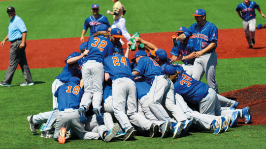 Macalester baseball team.