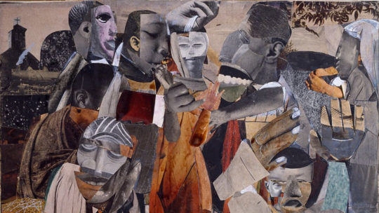 The Prevalence of Ritual: Baptism Romare Bearden, 1964