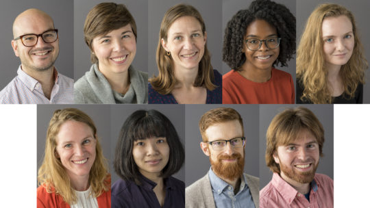New tenure track faculty
