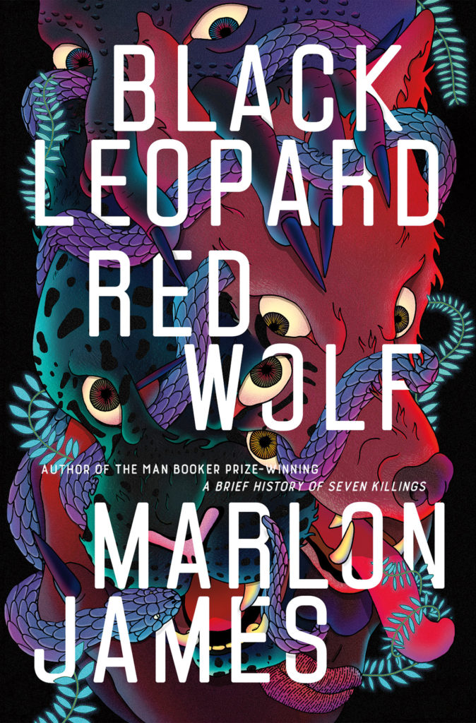 Book cover of Black Leopard, Red Wolf