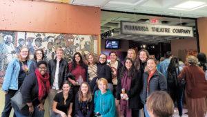 Students visit the Penumbra Theatre