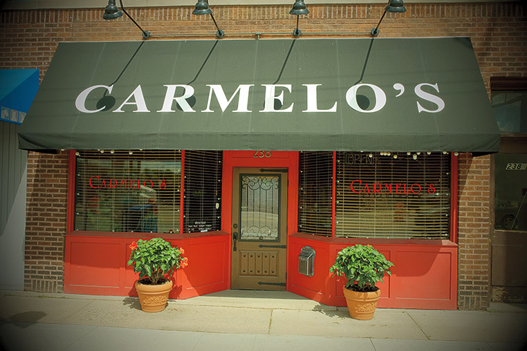 Photo of exterior of Carmelo's restaurant.