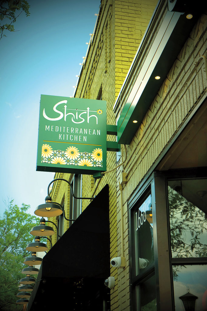 Photo of the exterior of Shish restaurant on Grand Ave.