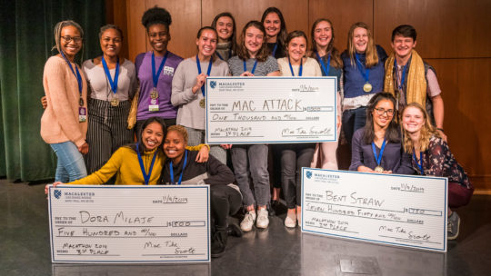 Photo of 2019 Macathon winners