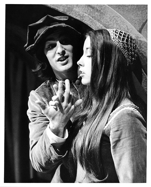 Romeo and Juliet, featuring Stephen Yoakam '75 and Mary Karr '76 (1974).