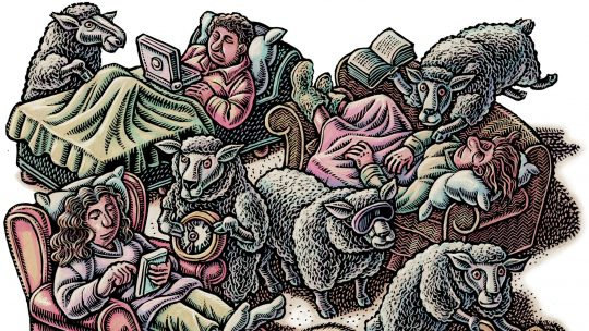 Illustration depicting sleep