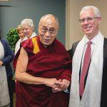 The Dalai Lama and President Rosenberg