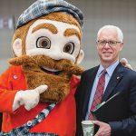 Mac the Scot and President Rosenberg