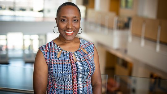 Dr. Lisa Anderson-Levy, Macalester's new Executive VP and Provost
