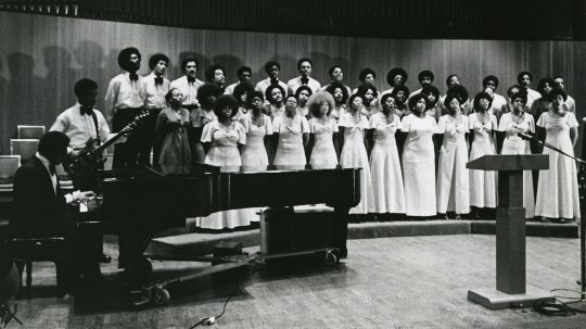 Archival photo of Sounds of Blackness