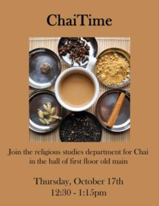 Chai time poster