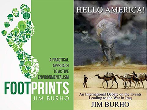 Two Books published by Jim Burho<br>  Submitted by:  Jim Burho